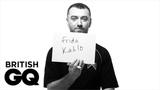 Sam Smith 'My hero is Frida Kahlo' British GQ