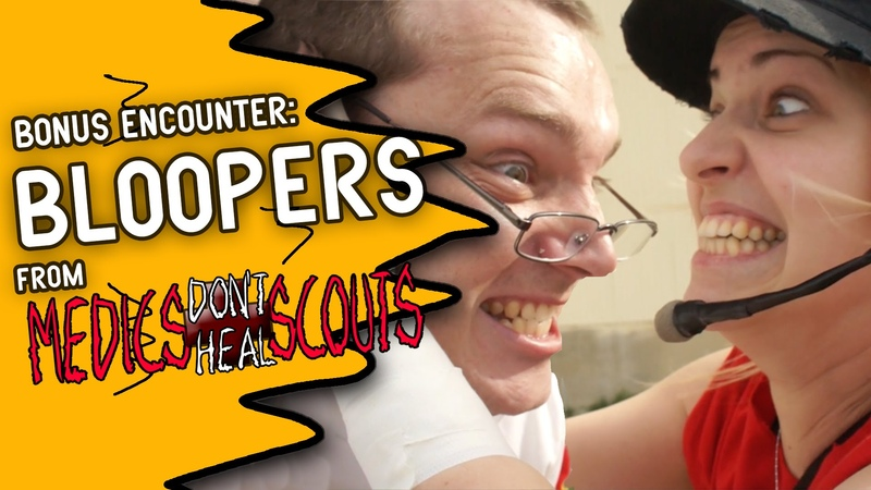 BLOOPERS from Medics Don't Heal Scouts (feat. Dodger)
