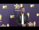 Michael B Jordan at the 2018 MTV Movie And TV Awards at Barker Hangar in Santa Monica