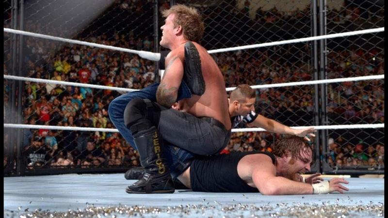 (WWE Mania) Dean Ambrose vs Chris Jericho (Asylum Match)