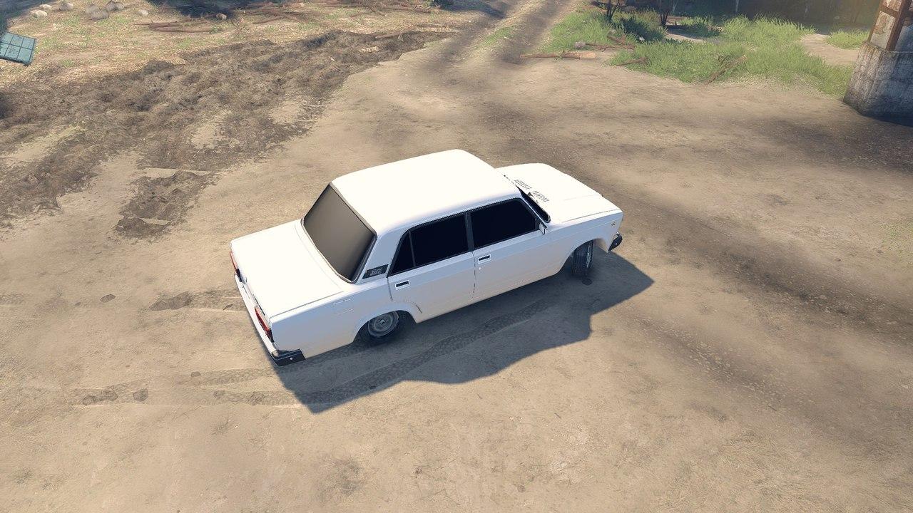 Vaz 2107 для Spintires - Скриншот 3
