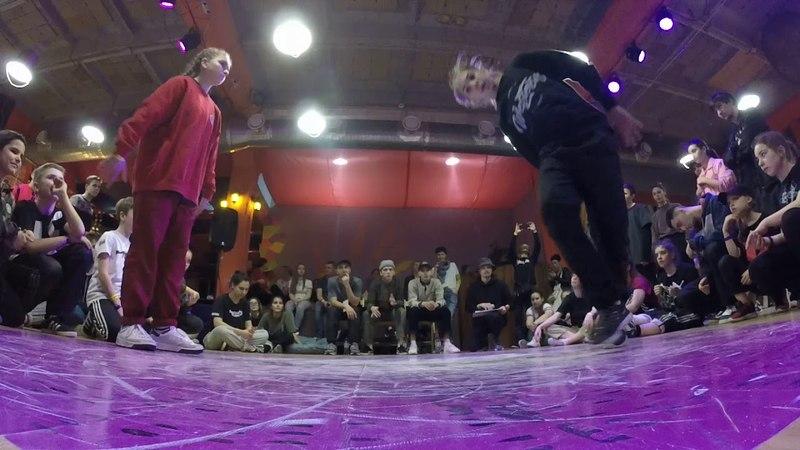 Чайка vs НикаКлубника Beg 1х1 Hip Hop deFunkyFunky