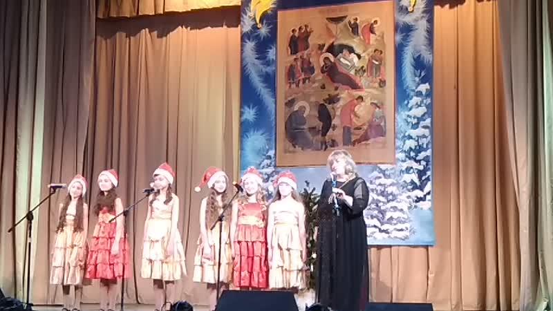 рождественский концерт в Пушкино