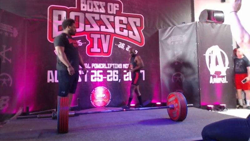 Richard Hawthorne - 627.5 kg/1383.4 lbs Total - Boss Of Bosses 4