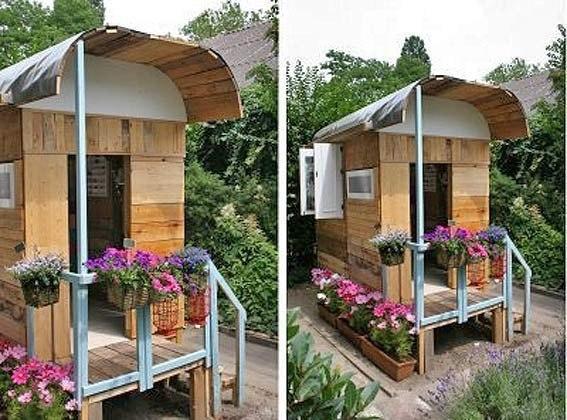 Фото красивый домик на даче своими руками