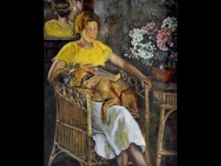 WOMEN WITH DOG PAINTINGS    Medley: Begin The Beguine  Hugo Montenegro