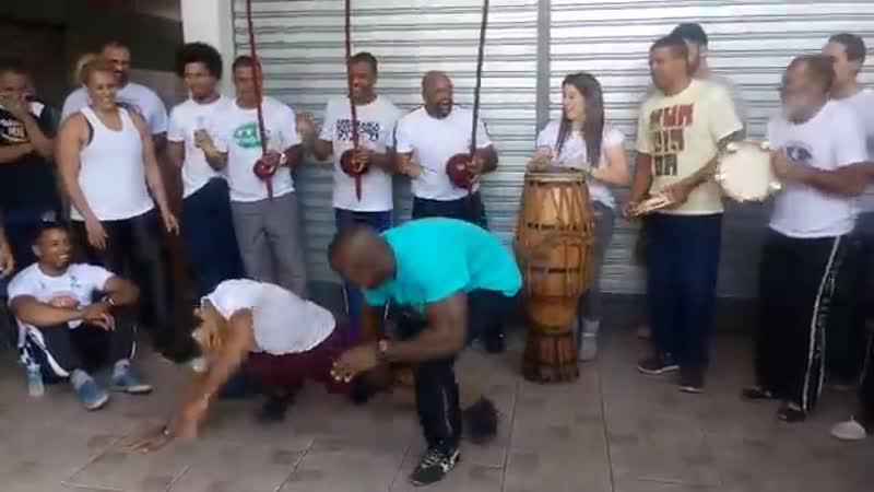 Jogo de angola Professor Morceguinho e Bamba
