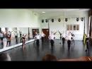 Польский танец с лентами Кирилл
