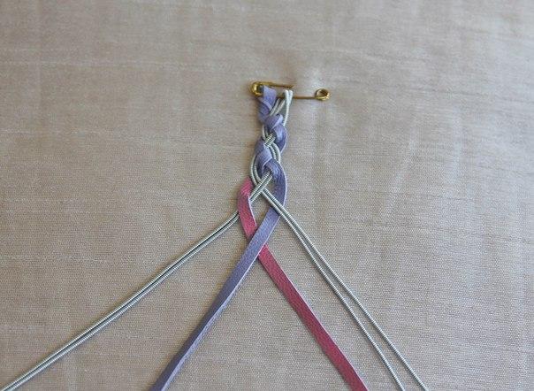 Браслеты плетеные своими руками