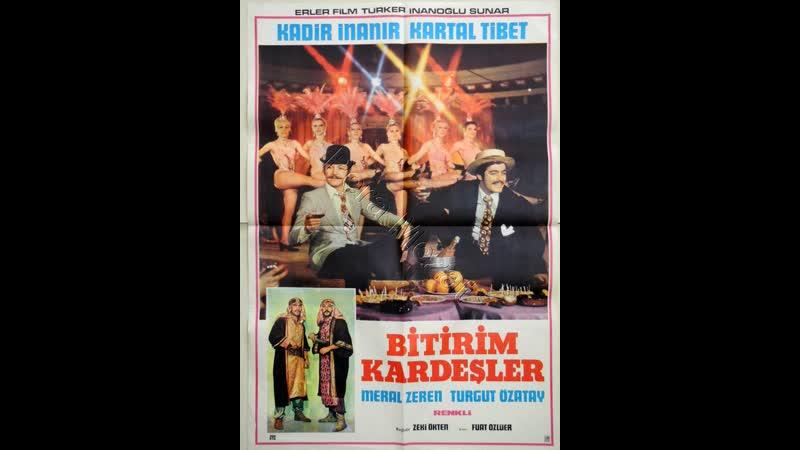 Bitirim Kardeşler _ Kadir İnanır, Kartal Tibet _ Türk Filmi _ Full HD