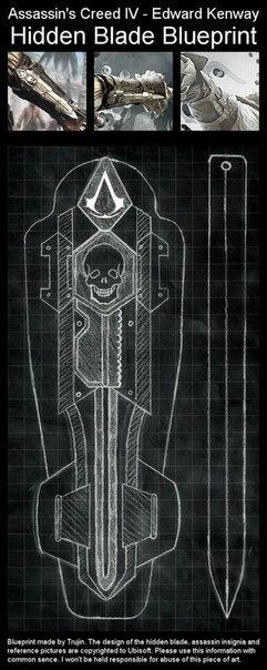 Скрытый клинок Эдварда Кенуэя