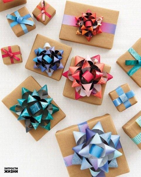 Как сделать подарочный бант на коробку 650