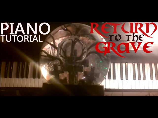 The Crow Soundtrack - Return to the Grave (PIANO TUTORIAL by kLEM ENtiNE)