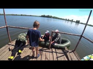 Дети на рыбалке! Ловля карася, карпа на платнике в Самарской области