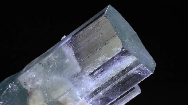 Aquamarine Albite mineral specimen for sale