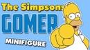 Гомер Симпсон Минифигурка Лего Обзор минифигурки Гомера Симпсон Лего Lego Minifigure Gomer Simpsons