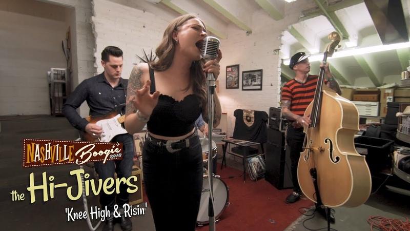 'Knee High Risin' The Hi-Jivers NASHVILLE BOOGIE (bopflix sessions) BOPFLIX