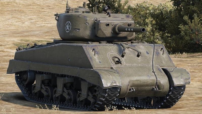 M4A3E2 на карте Редшир - 1944 год