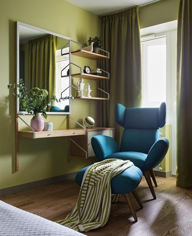 Квартира в ярких красках