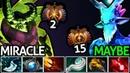 Miracle- Pugna VS Maybe Leshrac | Top 2 EU VS Top 15 China 7.19 Dota 2