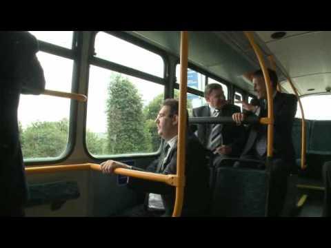 Автобусы Volvo hybrid bus in London