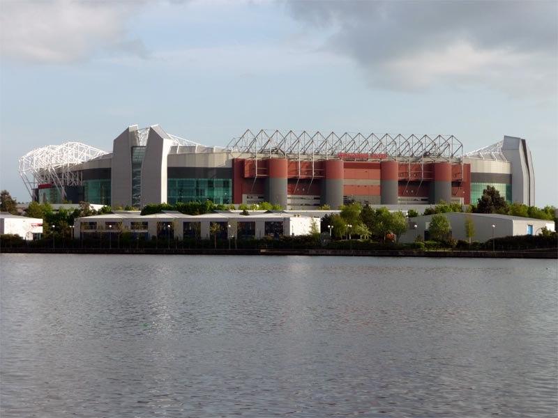 Стадион Олд Траффорд (Old Trafford). Манчестер, Англия.