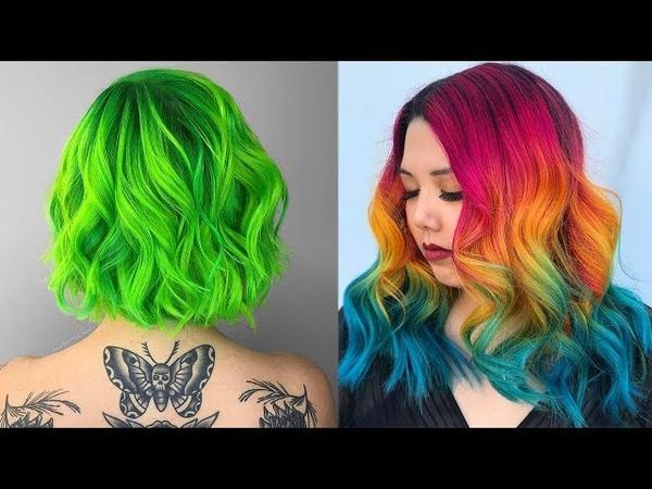 Amazing Hair Color Transformations 2017 | Rainbow Hair Tutorials Compilation