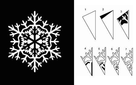 Красивые необычные снежинки своими руками
