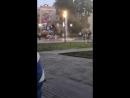 Купание в фонтане у ДК