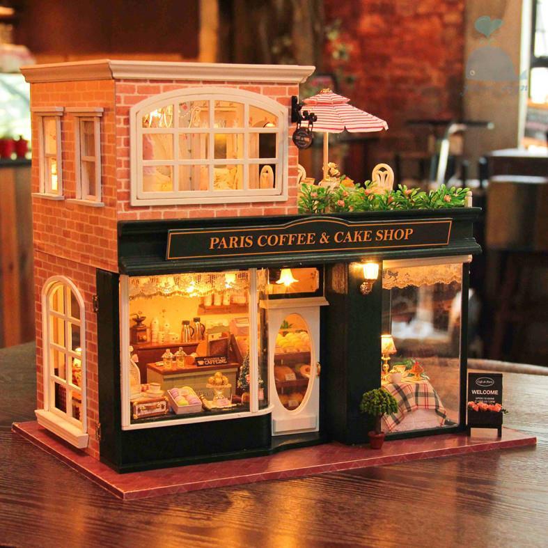 Кукольный дом Французская булочная -