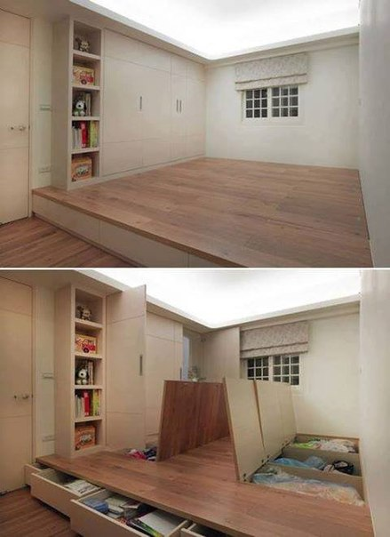 Экономия места в доме #DIY_Идеи