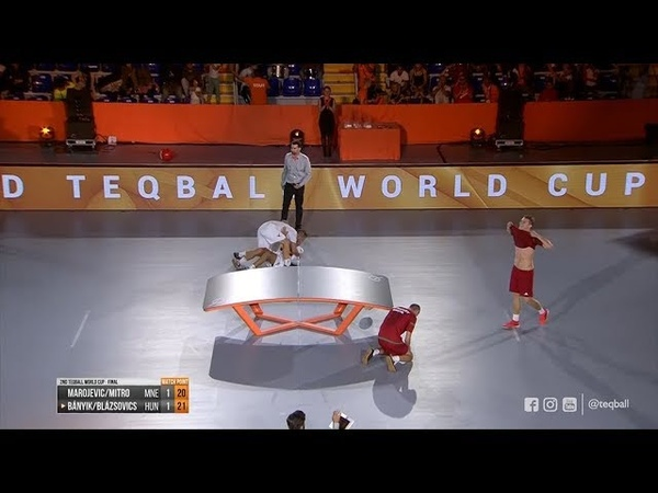 2nd Teqball World Cup Doubles Final Hungary vs Montenegro
