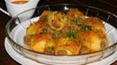 Ужин два в одном ФАРШИРОВАННЫЙ КАРТОФЕЛЬ мясом говядиной с томатно морковным сливочным соусом