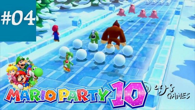 MARIO PARTY 10 || Mini Games || Part 04