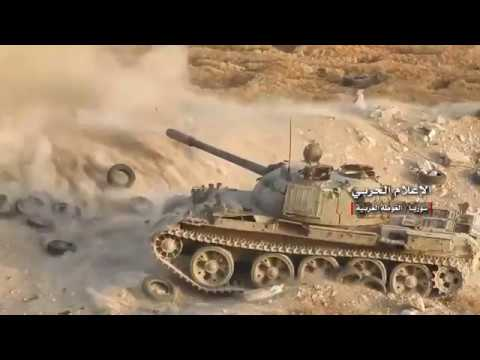 Scenes of the operations of the Syrian army and allies in the southern Damascus HD