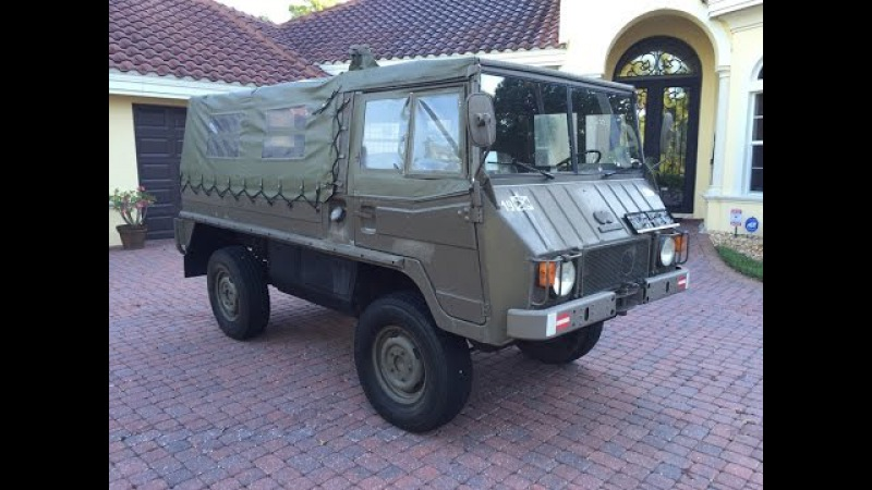 Test Drive - 1975 Steyr/Puch Pinzgauer 710M for sale by Autohaus of Naples AutohausNaples.com