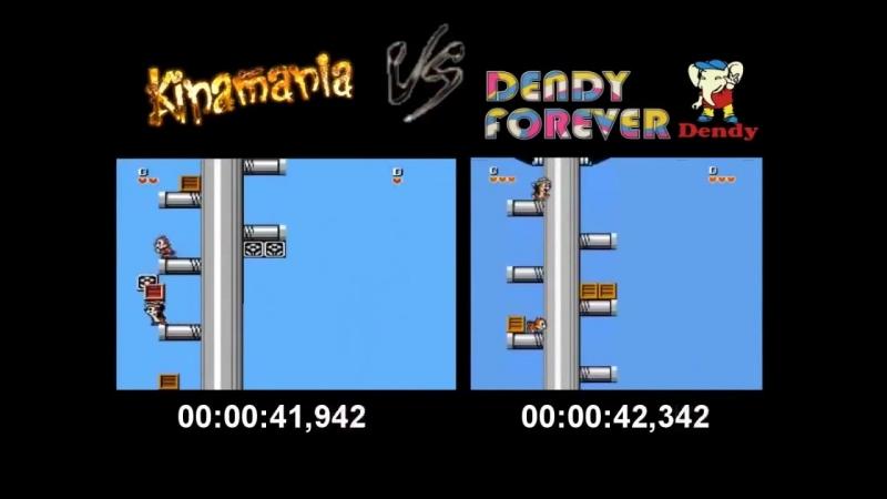 Speedrun challenge - Chip n Dale Rescue Rangers 2x2 - Dendy Forever (Smokey, Sting) vs Kinamania (Kinaman, Coulthard)