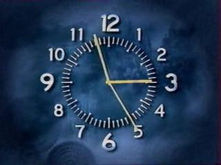 staroetv.su / Окончание эфира с часами ОРТ (Телеэкспо, январь 1998)