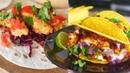 3 VEGAN TACOS Buffalo Cauliflower Wing Tacos Bang Bang Fish Tacos The Edgy Veg
