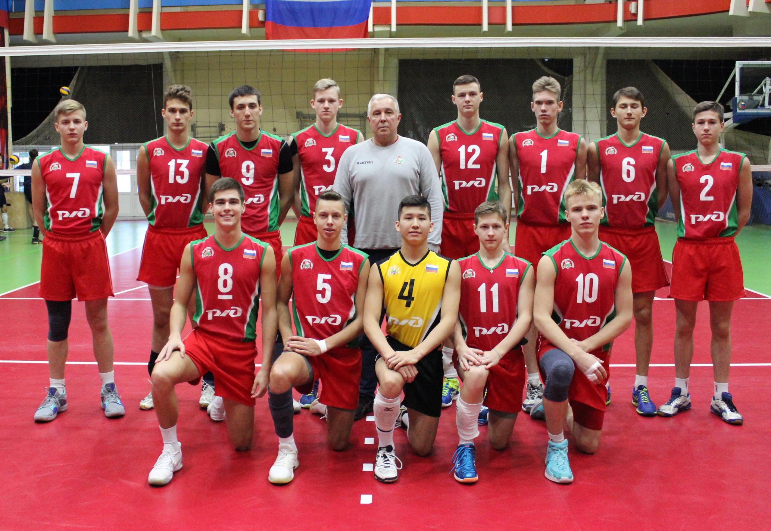 зональные соревнования Первенства России по волейболу, среди юношей 2002-2003 г.р.