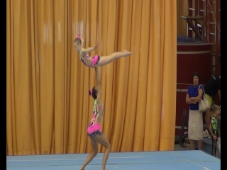 Первенство г.Краснодара по спортивной акробатике посвященное