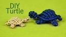 How to Macramé Turtle Tortoise Tortue Tortuga Tartaruga