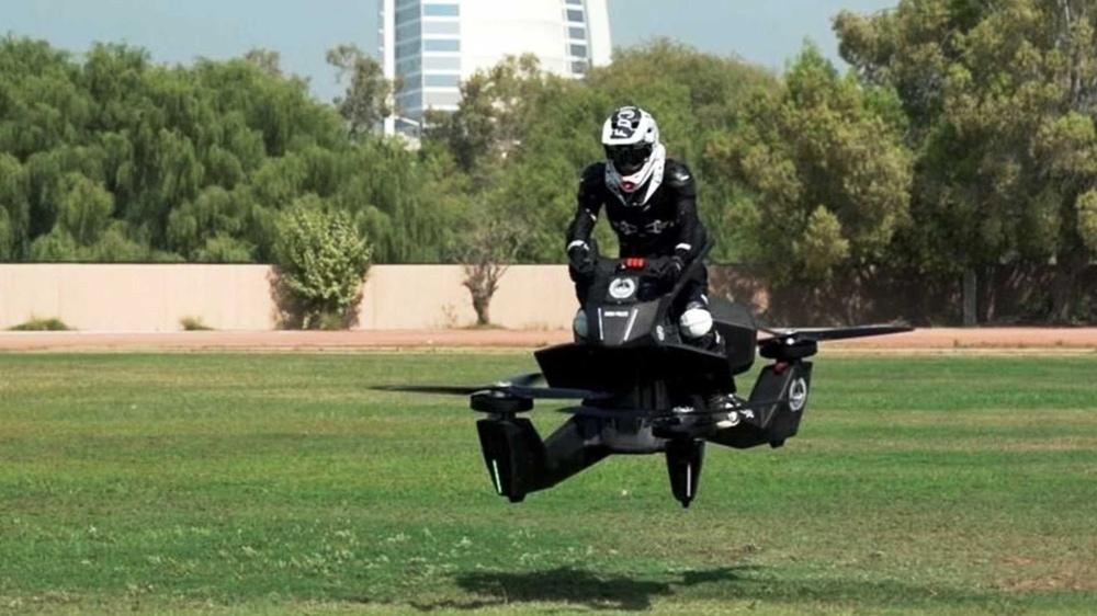 Полиция Дубаи получила первые Hoverbike