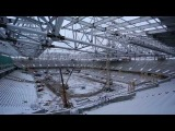 Съемка стадиона «Открытие Арена». 28 ноября 2013 года