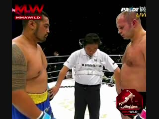 Fedor vs. hunt