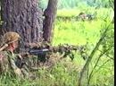 Спецназ ВДВ. Прикрытие отхода группы снайперами