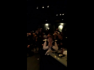 Новогодний концерт Голубой огонек в джазовом клубе Эверджаз
