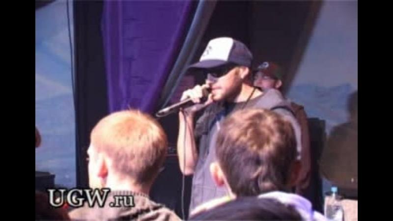 2007.10.05 - Гек x Ганш x DJ N-Tone - live part 2 - Весёлые будни, Беспонтово (Презентация cd Гека, Квадрат, Москва)