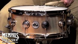 DW 14 x 5.5 Collector's Series Bronze Snare Drum - Knurled Finish