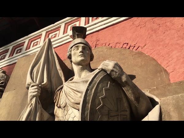 Подлинные горельефы Храма Христа Спасителя до его разрушения.